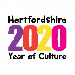 Hertfordshire Year of Culture 2020 logo